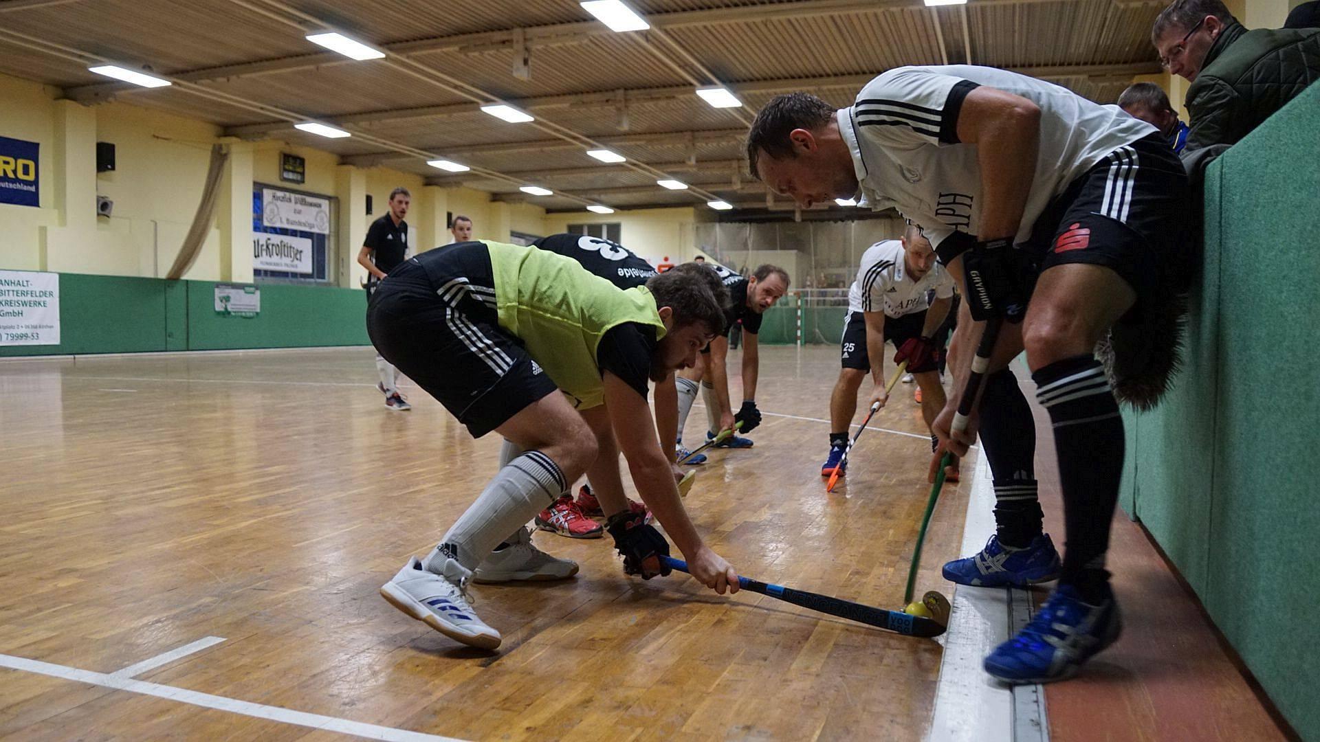 Sporthalle Osternienburg Hockey
